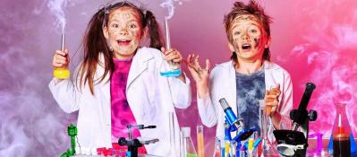 Научное химическое шоу на детский праздник, день рождения ребёнка